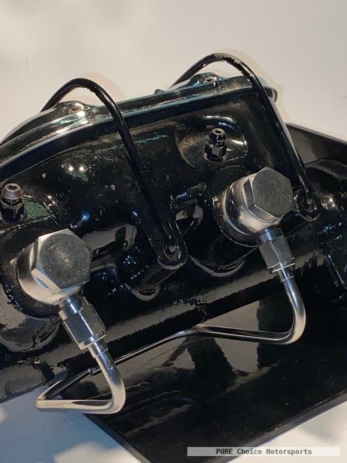 Corvette Master Cylinder S/S Banjos