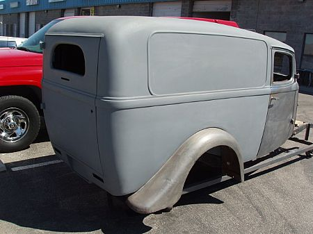 1936 Willy's Sedan Delivery