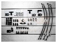 AN Brake Line Tab Kit # 2