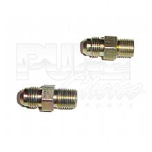 Trans. Fittings -6 AN to 1/4 NPT straight thread