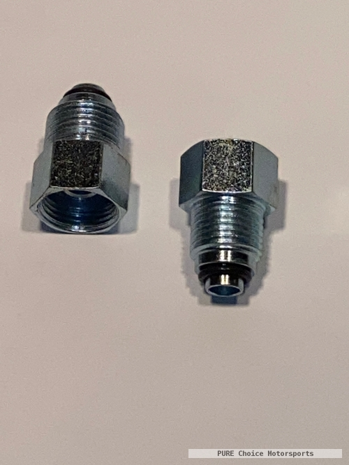 Late GM P/S Box to Early Hose Fittings
