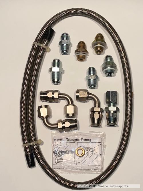 Mustang / T Bird rack to GM pump