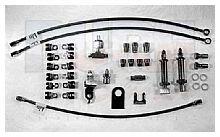 Steel Thru Frame Brake Line Kit