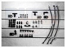AN Brake Line Tab Kit